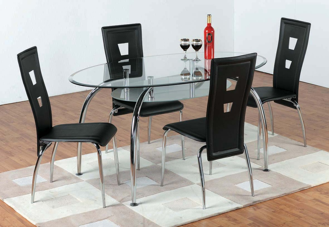 Dining sets kadavu furniture for Glass table and chairs